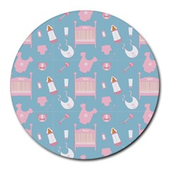 Baby Pattern Round Mousepads