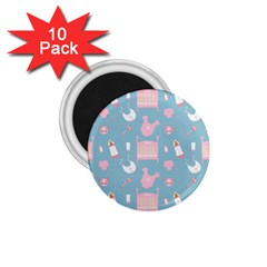 Baby Pattern 1 75  Magnets (10 Pack)