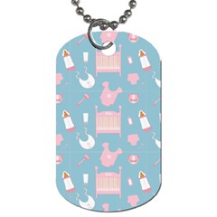 Baby Pattern Dog Tag (two Sides)