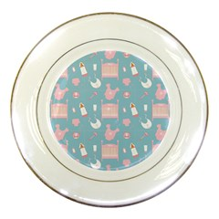 Baby Pattern Porcelain Plates