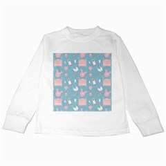 Baby Pattern Kids Long Sleeve T Shirts