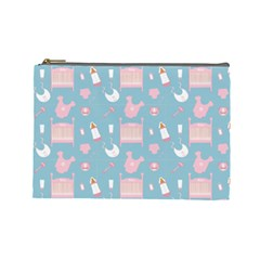 Baby Pattern Cosmetic Bag (large)