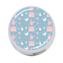 Baby Pattern 4 Port Usb Hub (one Side)