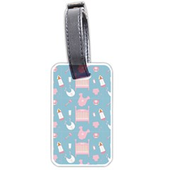 Baby Pattern Luggage Tags (one Side)