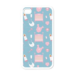 Baby Pattern Apple Iphone 4 Case (white)