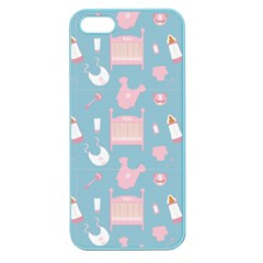 Baby Pattern Apple Seamless Iphone 5 Case (color)