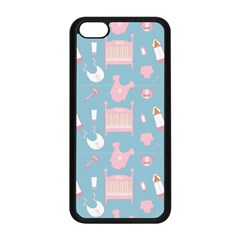 Baby Pattern Apple Iphone 5c Seamless Case (black)