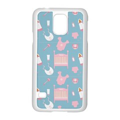 Baby Pattern Samsung Galaxy S5 Case (white)