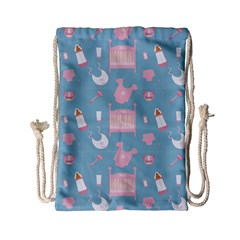 Baby Pattern Drawstring Bag (small)