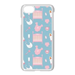 Baby Pattern Apple Iphone 7 Seamless Case (white)