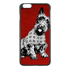 Scottish Apple Iphone 6 Plus/6s Plus Black Enamel Case by vintage2030