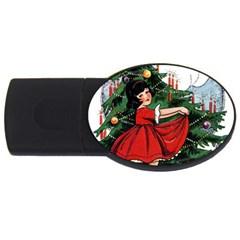 Christmas 1912802 1920 Usb Flash Drive Oval (4 Gb) by vintage2030