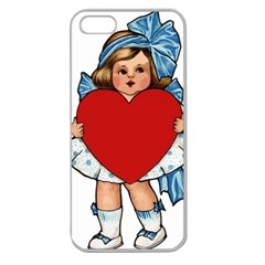 Child 1718349 1920 Apple Seamless Iphone 5 Case (clear)