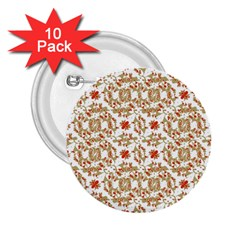 Colorful Modern Pattern 2 25  Buttons (10 Pack)  by dflcprints