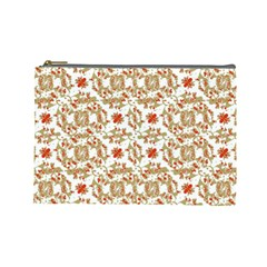 Colorful Modern Pattern Cosmetic Bag (large)  by dflcprints