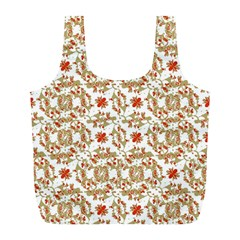 Colorful Modern Pattern Full Print Recycle Bags (l)