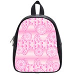 Amoebaflowerspink School Bag (Small)