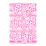 Amoebaflowerspink Shower Curtain 48  x 72  (Small)