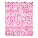 Amoebaflowerspink Shower Curtain 60  x 72  (Medium)