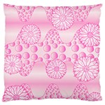 Amoebaflowerspink Large Cushion Case (Two Sides)