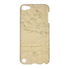 Map Apple Ipod Touch 5 Hardshell Case by vintage2030