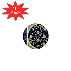 Background Vintage Japanese 1  Mini Buttons (10 Pack)