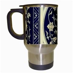 Background Vintage Japanese Travel Mugs (white) by Nexatart