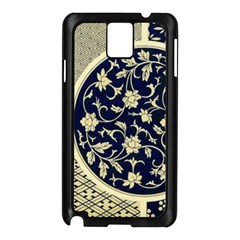Background Vintage Japanese Samsung Galaxy Note 3 N9005 Case (black)