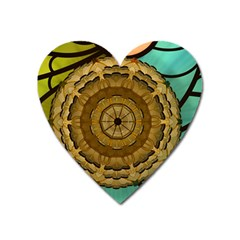 Kaleidoscope Dream Illusion Heart Magnet