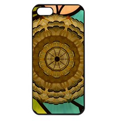 Kaleidoscope Dream Illusion Apple Iphone 5 Seamless Case (black)