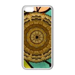 Kaleidoscope Dream Illusion Apple Iphone 5c Seamless Case (white)