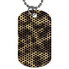 Honeycomb Beehive Nature Dog Tag (two Sides)