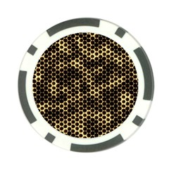 Honeycomb Beehive Nature Poker Chip Card Guard