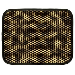 Honeycomb Beehive Nature Netbook Case (large)