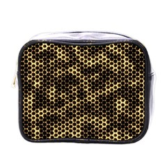 Honeycomb Beehive Nature Mini Toiletries Bags