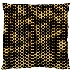 Honeycomb Beehive Nature Large Cushion Case (one Side)