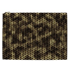 Honeycomb Beehive Nature Cosmetic Bag (xxl)