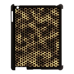 Honeycomb Beehive Nature Apple Ipad 3/4 Case (black)