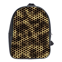 Honeycomb Beehive Nature School Bag (xl)