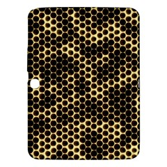 Honeycomb Beehive Nature Samsung Galaxy Tab 3 (10 1 ) P5200 Hardshell Case