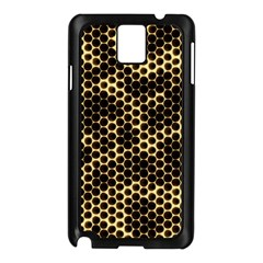 Honeycomb Beehive Nature Samsung Galaxy Note 3 N9005 Case (black)