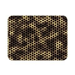 Honeycomb Beehive Nature Double Sided Flano Blanket (mini)