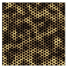 Honeycomb Beehive Nature Large Satin Scarf (square)