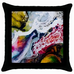 Abstract Art Detail Painting Throw Pillow Case (black)