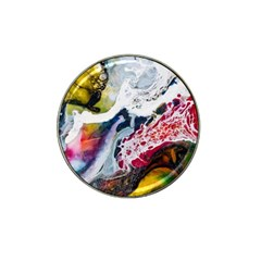 Abstract Art Detail Painting Hat Clip Ball Marker (4 Pack)