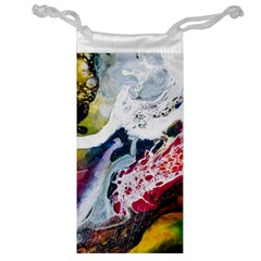 Abstract Art Detail Painting Jewelry Bag