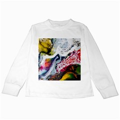 Abstract Art Detail Painting Kids Long Sleeve T Shirts