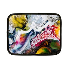 Abstract Art Detail Painting Netbook Case (small)