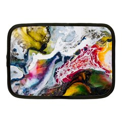 Abstract Art Detail Painting Netbook Case (medium)