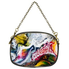 Abstract Art Detail Painting Chain Purses (one Side)